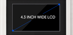 4.3 INCH WIDE LCD